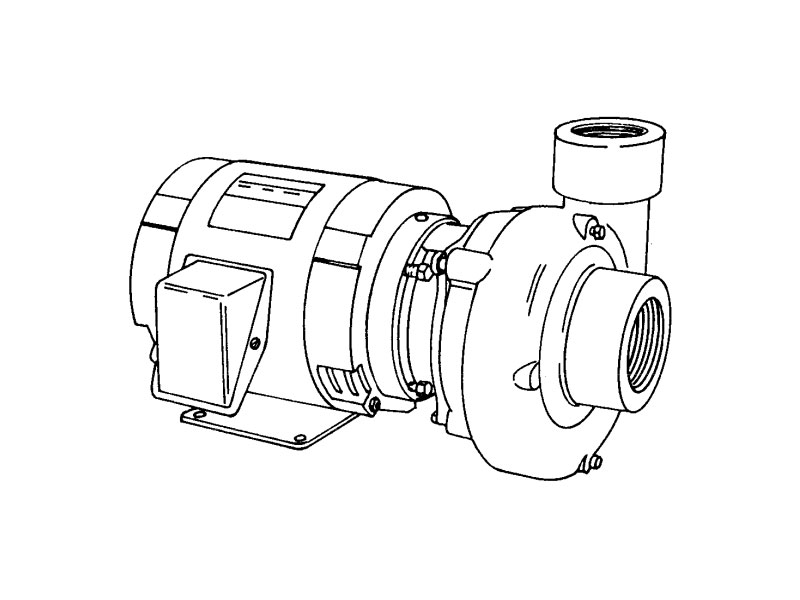 2 Ab Burks Centrifugal Pump